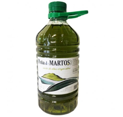 Peña de Martos. Aceite de oliva Picual. 2 Litros