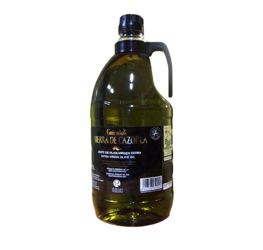 Sierra Cazorla.Picual Olive oil. 9 bottles of 2 Liters