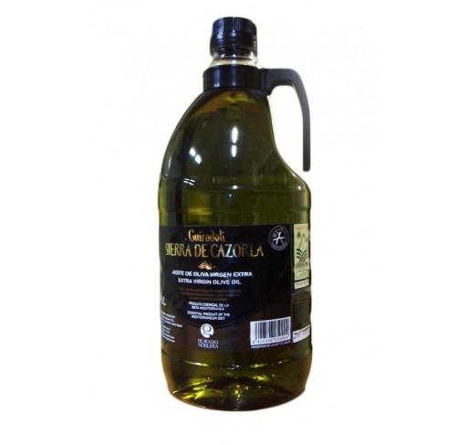 Sierra Cazorla. Aceite de oliva Picual. 9 Garrafas de 2 Litros.