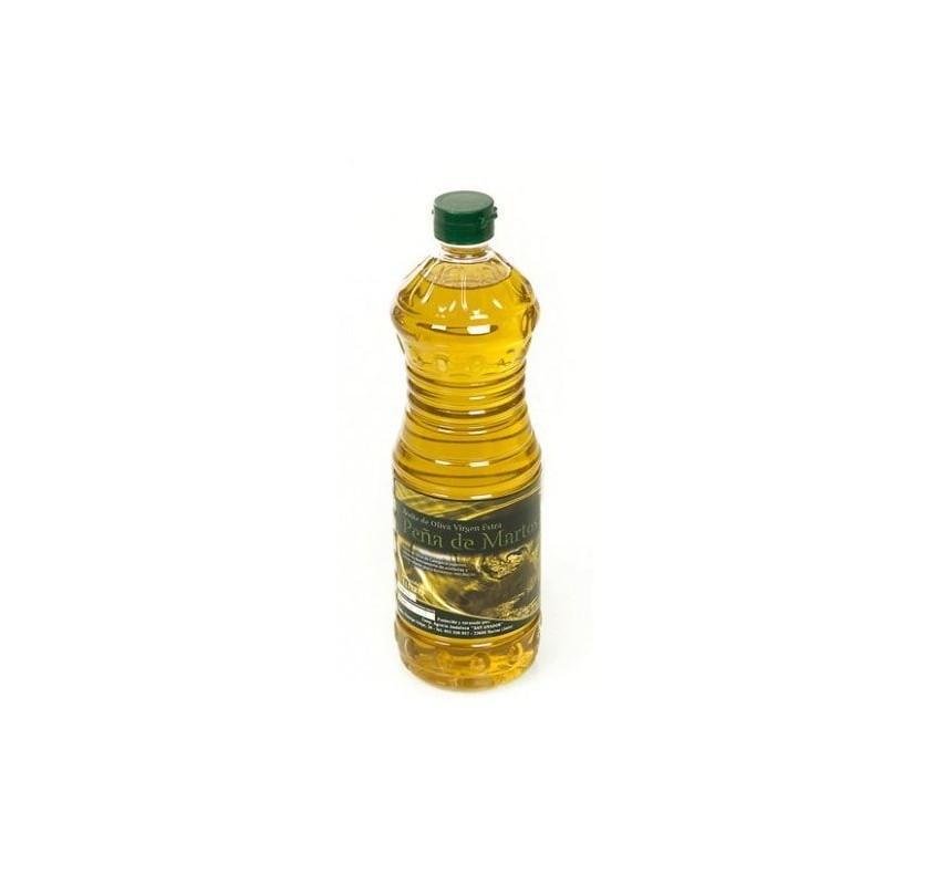 Peña de Martos. Aceite de oliva Picual. 15 botellas de 1 Litro