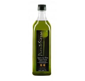 Puente Sierra. Aceite de oliva Picual. 12 botellas 1 Litro.