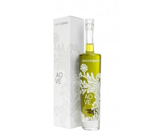 AOVE Oleicola Jaen. Gift Box with Special bottle of 500 ml