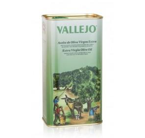 Vallejo. Picual Olive oil. 1 Liter tin