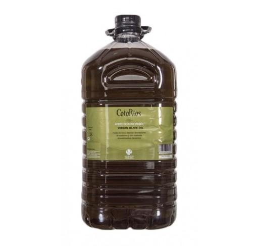 Coto Rios. Aceite de oliva Picual. 3 Garrafas de 5 Litros