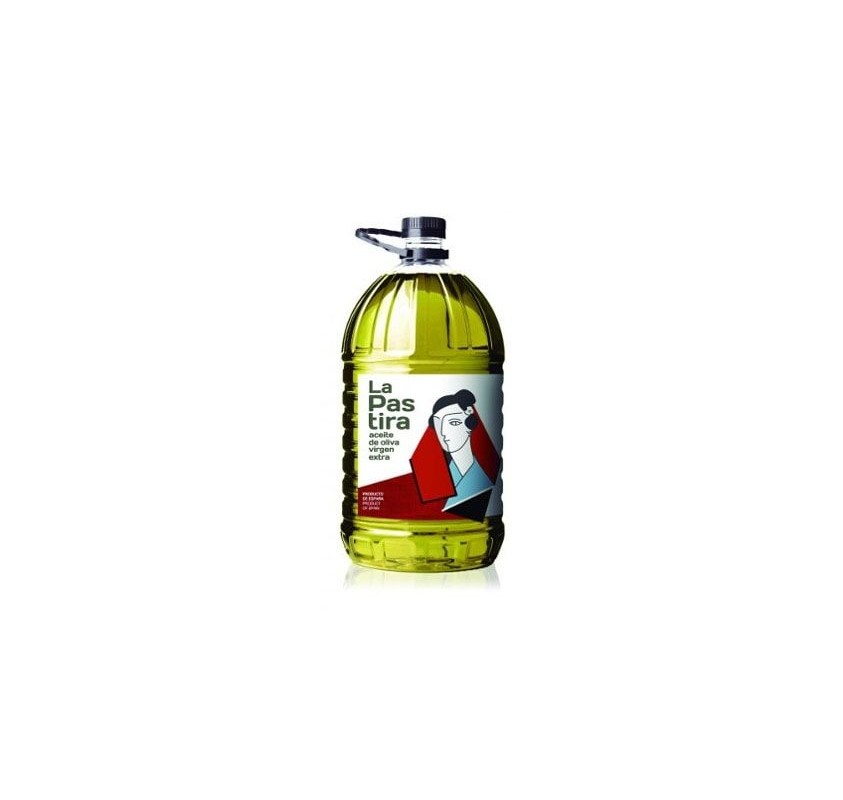 La Pastira. Aceite de oliva Virgen Picual. 5 Litros