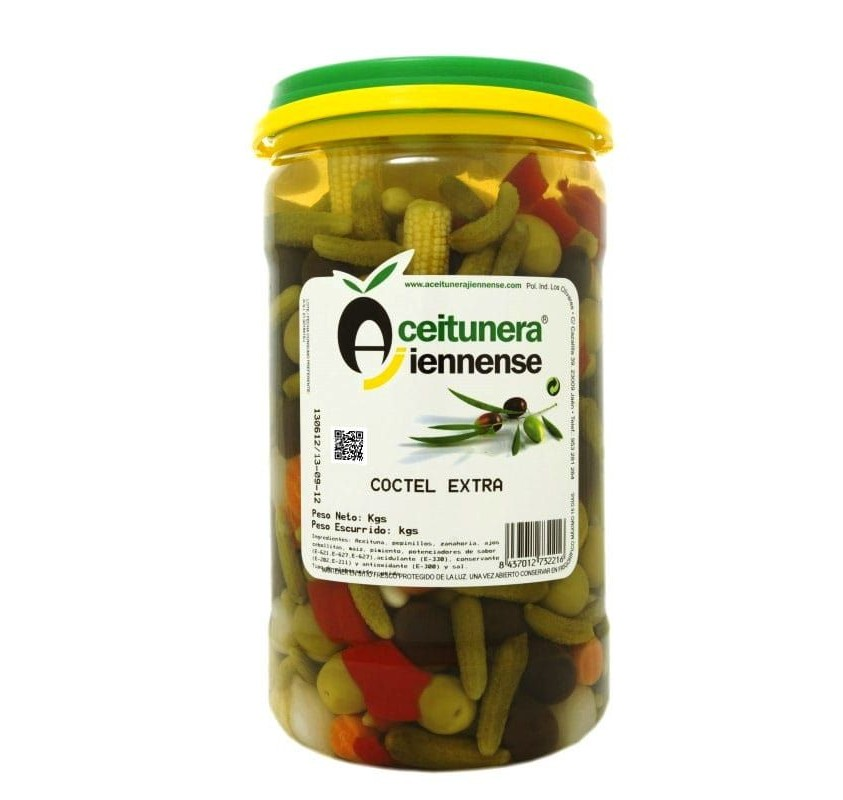 Extra cocktail of olives. 650 g