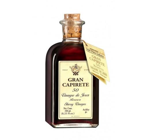 Vinagre de Jerez. Gran Capirete 50 años. 250 ml.