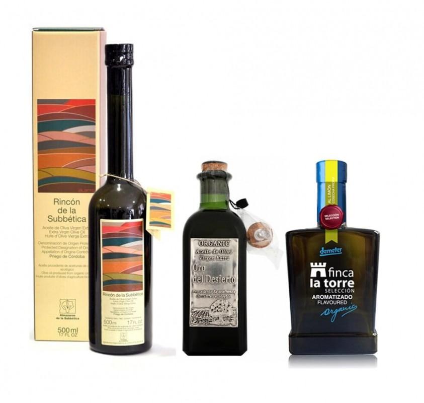 Los tres mejores aceites de oliva ecológicosdel mundo