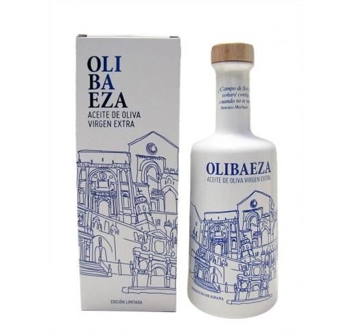 Olibaeza. Aceite de oliva Picual. 500 ml