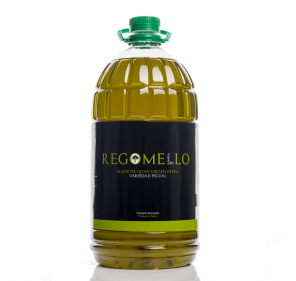 Regomello. Aceite de oliva Picual. Garrafa de 5 Litros.