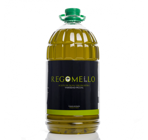 Regomello. Picual Olive oil. 5 Liters.