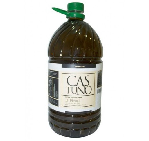 Castuno. Picual Olive oil. 3 Bottles of 5 Liters