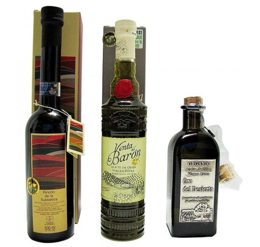 The Three World's Best Olive Oils 2014-2015