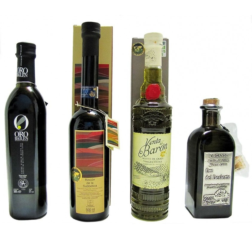 Los cuatro mejores aceites de oliva del mundo 2014-2015