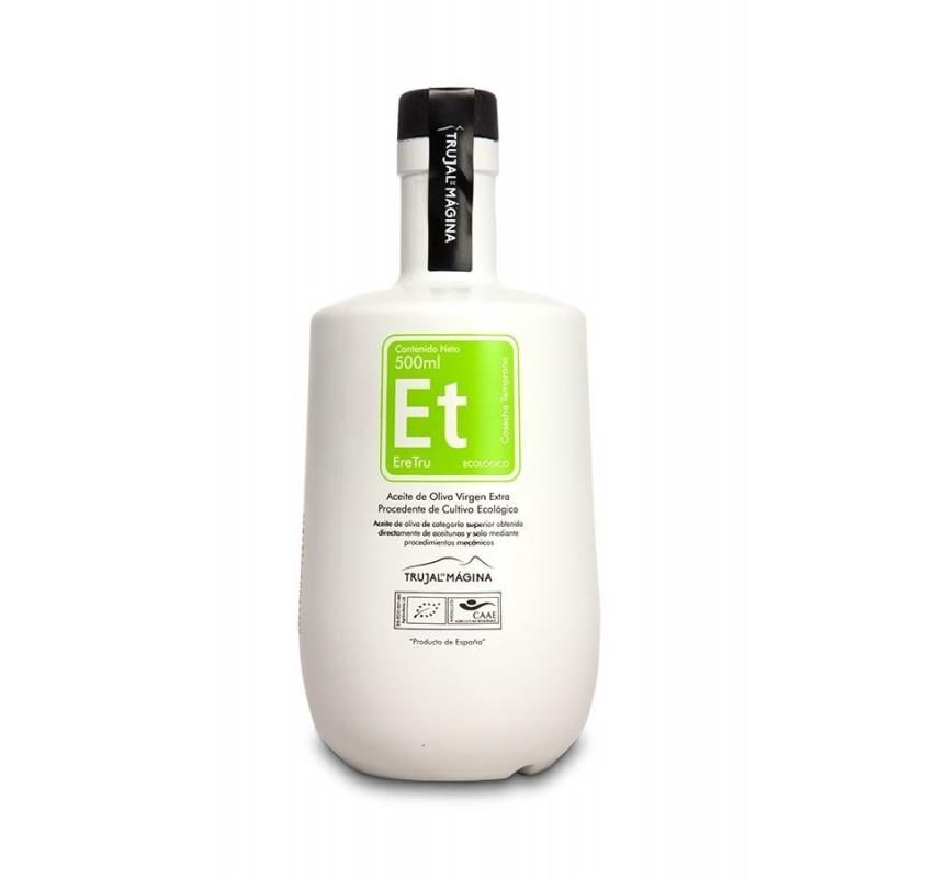 Eretru. Aceite de oliva Ecológico. 6 botellas de 500ml