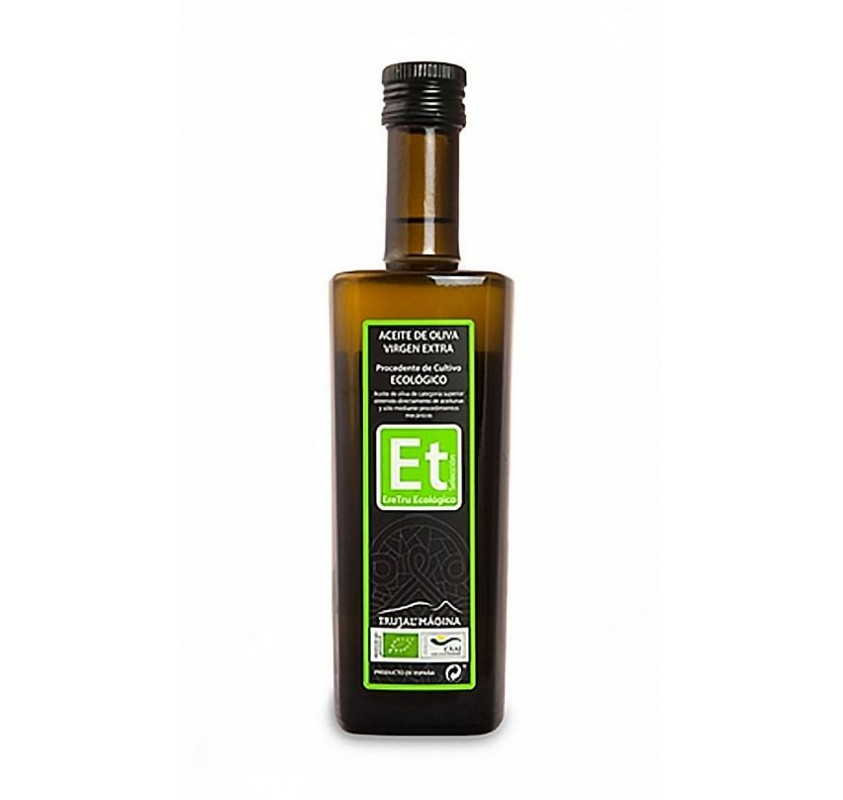 Eretru. Organic Olive oil. 12 Bottles of 500 ml