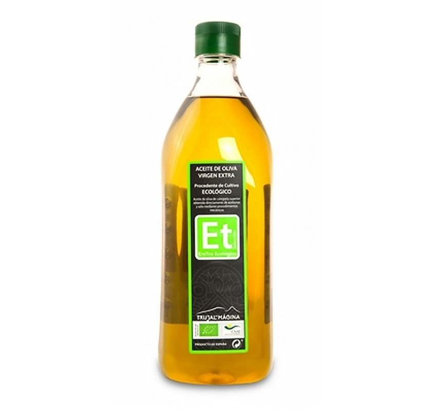Eretru. Organic Olive oil. 12 Bottles of 1 Liter.
