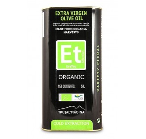 Eretru. Organic Olive oil. 3 Tins of 5 Liters