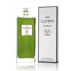 Elizondo N.3. Picual Olive oil. 6 bottles of 500 ml