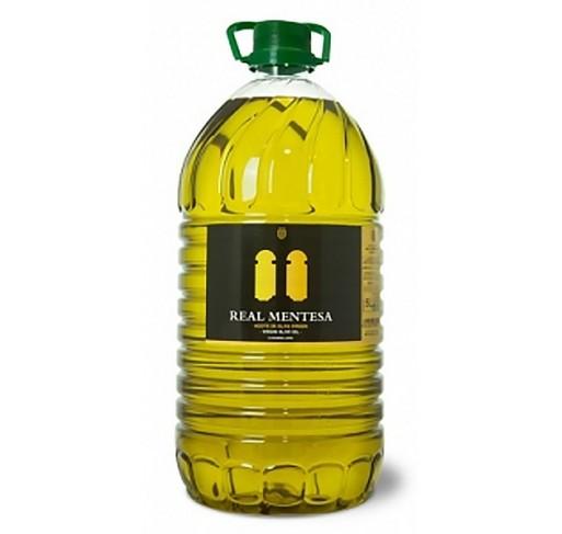 Real Mentesa. Aceite de oliva virgen Picual. Garrafa de 5 Litros