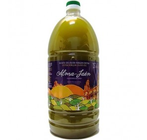 Alma Jaén Unfiltered. Picual Olive oil. 2 liters