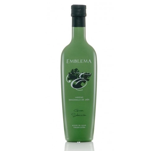 Emblema. Olive oil Mazanillo. 6 x 500 ml