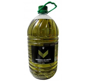 Aceite de oliva virgen extra. Señorío de Mesía. Garrafa de 5 Litros