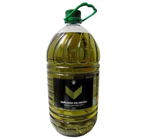 Extra virgin olive oil. Señorío de Mesía. 5 liters