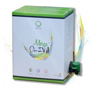Mergaoliva Alba. Picual Olive oil. Bag in Box 3 Liters