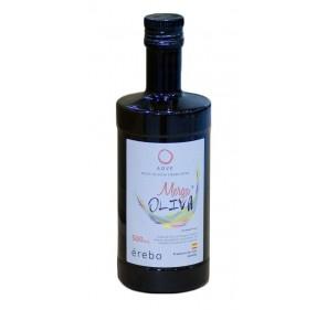 Mergaoliva Erebo. Aceite de oliva Picual. 500 ml