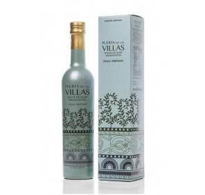 Puerta de las Villas. AOVE Temprano.Botella de 500 ml. Edición especial