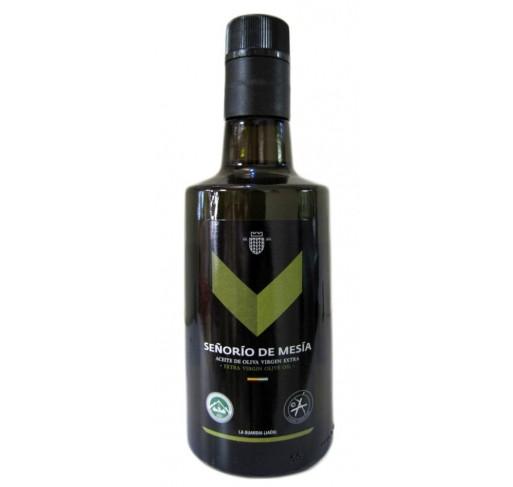 Señorío de Mesia. Aceite de oliva Picual. 500 ml