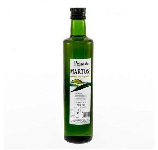 Peña de Martos. Aceite de oliva Picual. 500 ML. 12unidades