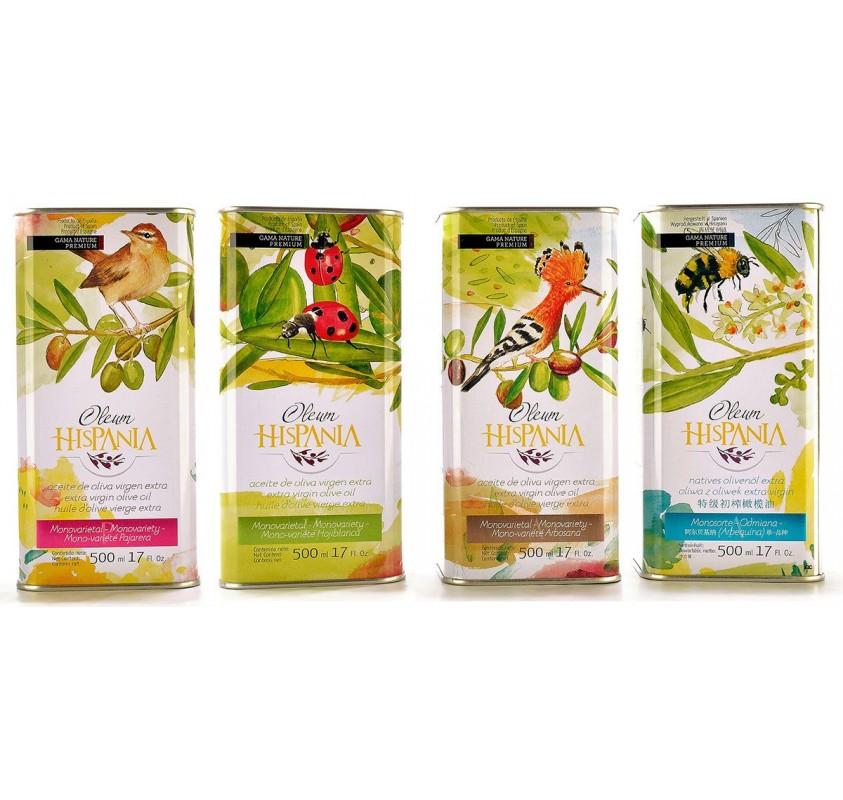 Oleum Hispania Pack 4 Latas de 500 ml.