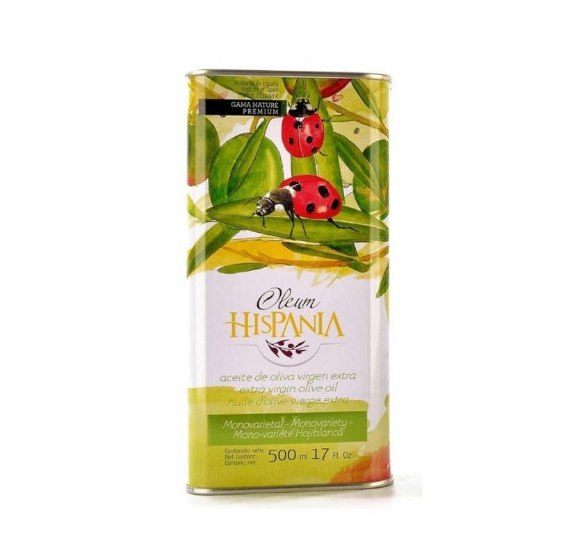 Oleum Hispania. 500 ml. tin