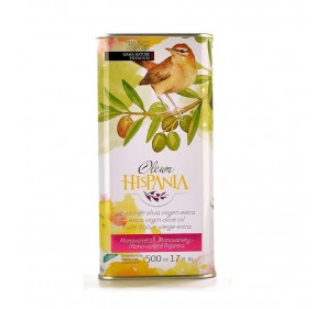 Oleum Hispania olive Oil. Pajarera 500 ml. tin