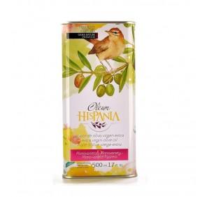 Oleum Hispania olive Oil. Pajarera. Box of 6 x 500 ml.