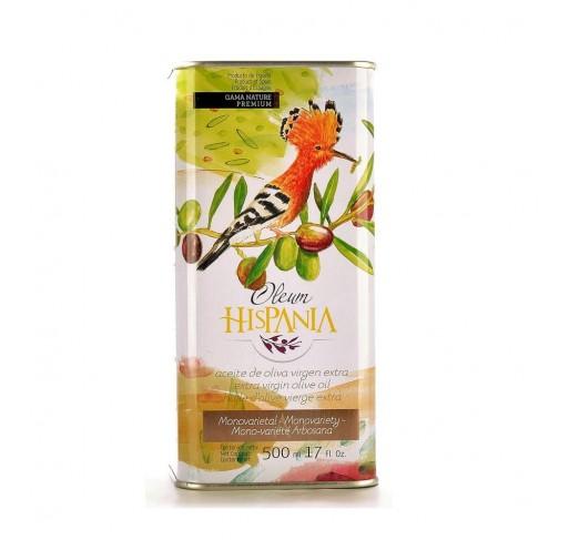 Oleum Hispania arbosana. Lata de 500 ml.