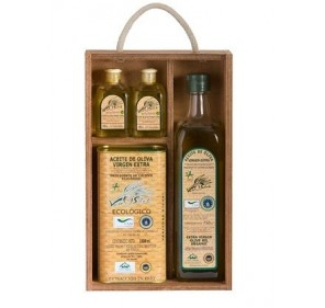 Aceite de oliva virgen extra ecologico Verde Salud (Estuche regalo)