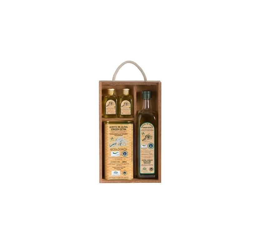Extra virgin Organic olive Verde Salud Gift Box