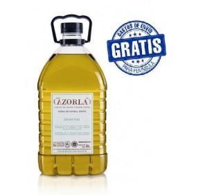 Sierra de Cazorla. Aceite de oliva Picual. 4 garrafas de 5 litros.