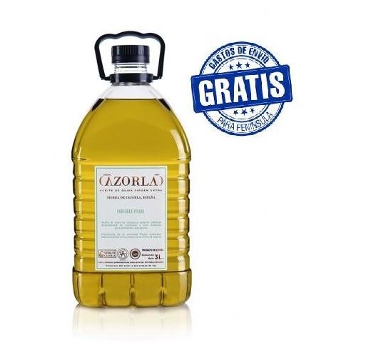 Cazorla. Aceite de oliva Picual. 6 X 3 litros.