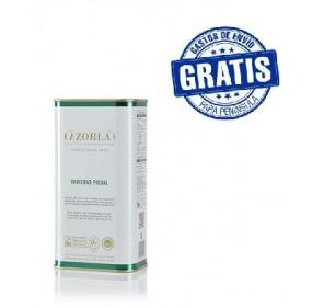 Cazorla. Aceitede oliva royal. 15 latas de 1 litro