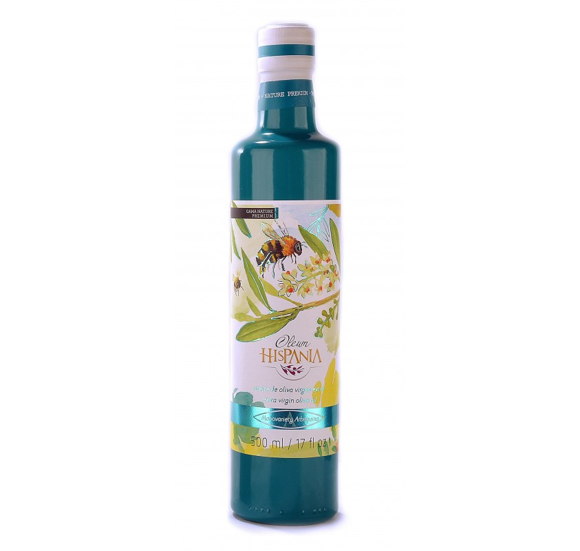 Oleum Hispania. 500 ml. tin