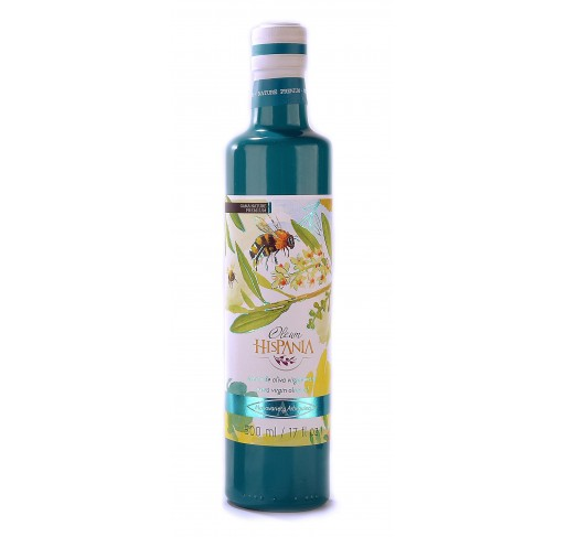 Oleum Hispania arbequina. Botella de 500 ml.