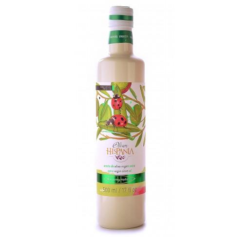 Oleum Hispania hojiblanca. Botella de 500 ml.