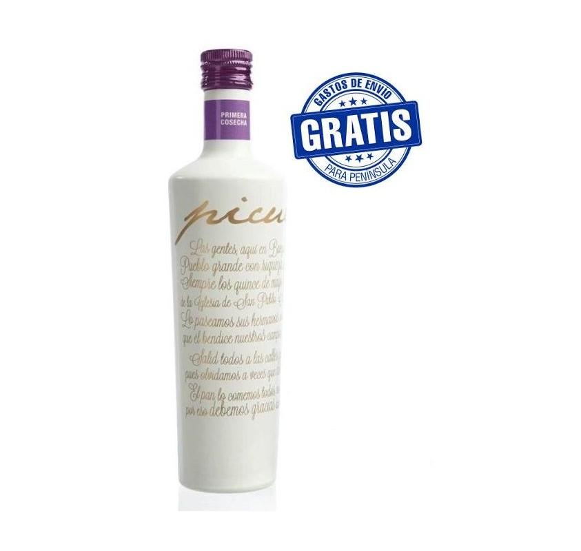 Picuélite alta gama. Caja de 6 botellas de 500 ml.