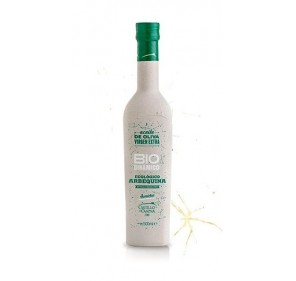 Extra virgin olive oil Castillo de Canena Biodinamic. 500 ml. glass bottle.