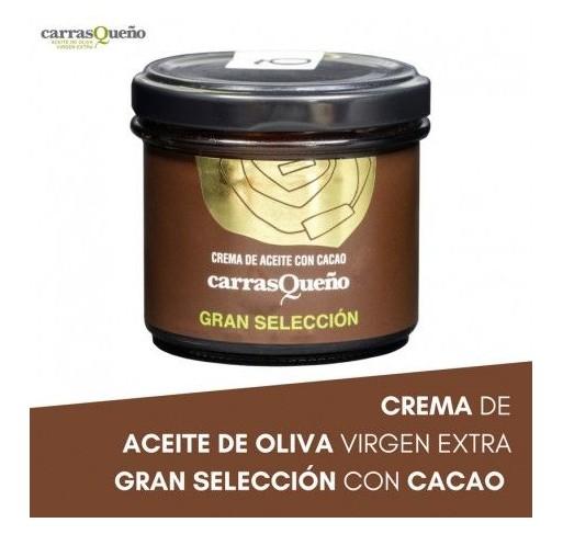"""Crema de aceite con cacao """"Carrasqueño"""". 100 gr."""