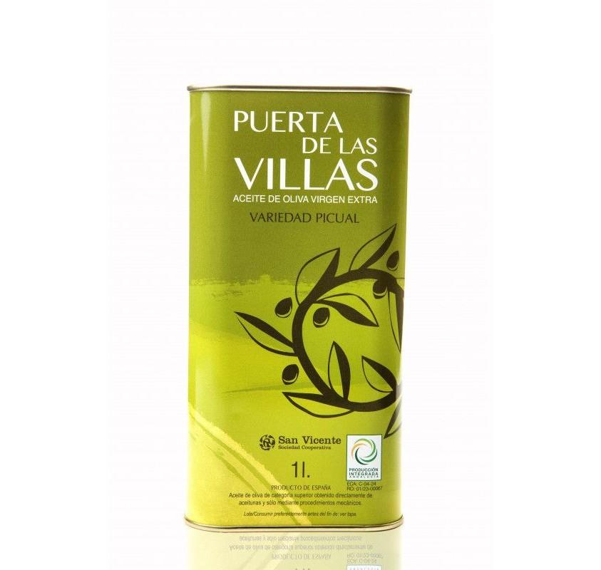 Puerta de las VillasCaja de 8 Latas de 1 litros